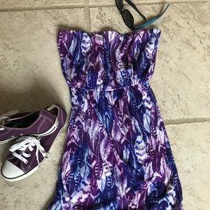 Billabong Sundress Cover Up Dress Size Large
